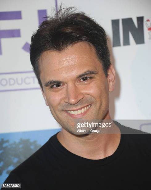 Actor Kash Hovey arrives for the Sneak Preview Of 'In Vino' held at Writers Guild Theater on July 27 2017 in Beverly Hills California