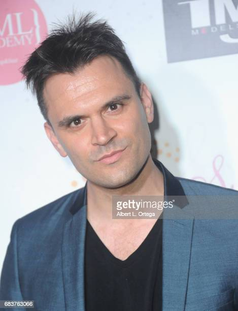 Actor Kash Hovey at Sai Suman's Official Hollywood Runway Fashion Show held at Sofitel Hotel on April 11 2017 in Los Angeles California