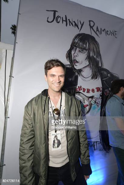 Actor Kash Hovey attend the Johnny Ramone Tribute and special screening of 'Buffalo '66' at Hollywood Forever on July 30 2017 in Hollywood California