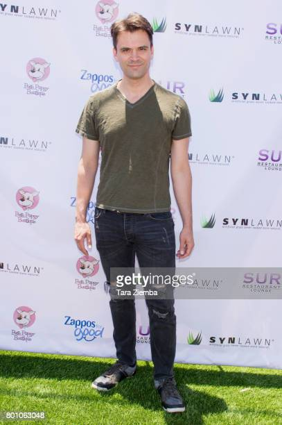 Actor Kash Hovey attends 2nd Annual World Dog Day at Vanderpump Dogs on June 25 2017 in Los Angeles California
