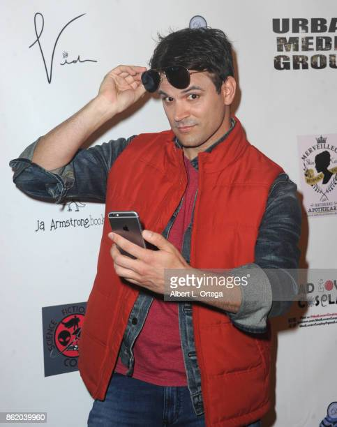 Actor Kash Hovey attends Halloween Hotness 4 Heating Up For The Cure held at American Legion Hall on October 15 2017 in Los Angeles California
