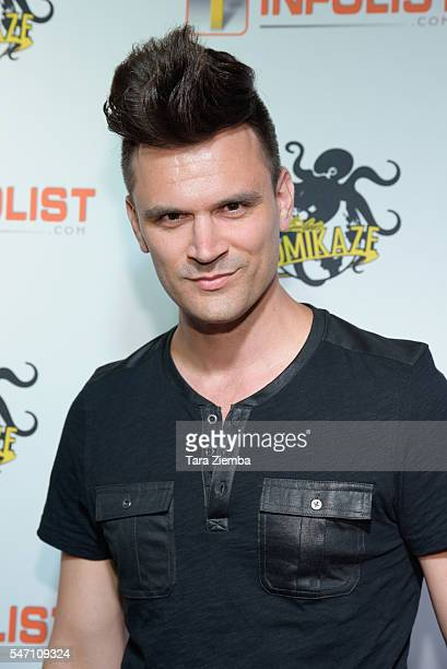 Actor Kash Hovey attends INFOLISTcom's Annual PreComicCon Party at OHM Nightclub on July 12 2016 in Hollywood California