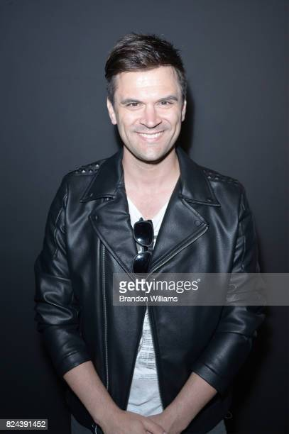Actor Kash Hovey attends the reveal of the 'Longmire' coffee table book by Cinematic Pictures Group Publishing at Cinematic Pictures Gallery on July...