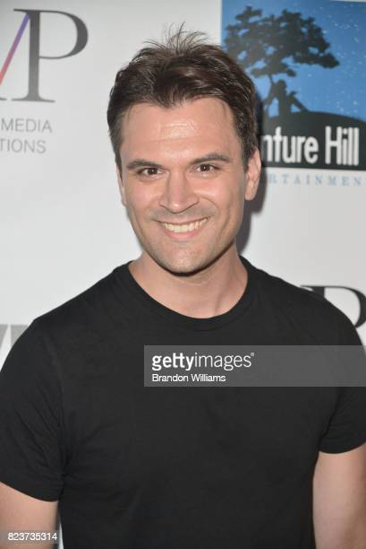 Actor Kash Hovey attends the sneak preview of 'In Vino' at Writers Guild Theater on July 27 2017 in Beverly Hills California