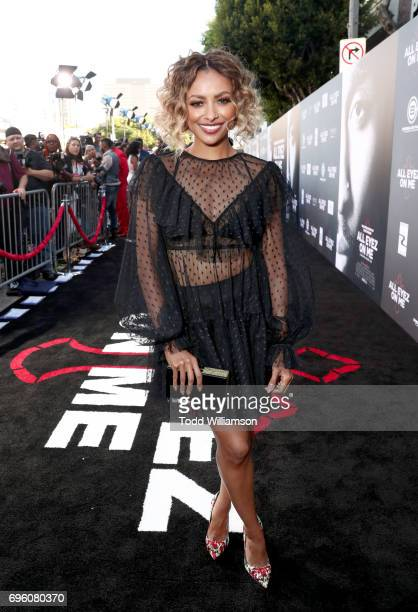 Actor Kat Graham at the 'ALL EYEZ ON ME' Premiere at Westwood Village Theatre on June 14 2017 in Westwood California