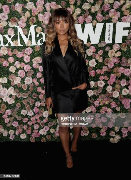Actor Kat Graham attends Max Mara Celebration of Zoey Deutch as The 2017 Women In Film Max Mara Face of The Future Award Recipient at Chateau Marmont...