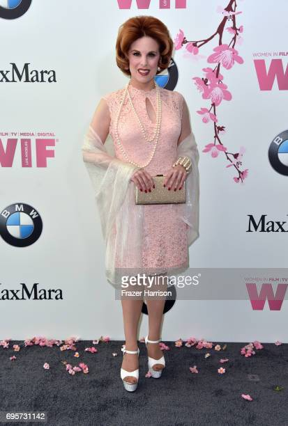 Actor Kat Kramer attends the Women in Film 2017 Crystal Lucy Awards Presented by Max Mara and BMW at The Beverly Hilton Hotel on June 13 2017 in...