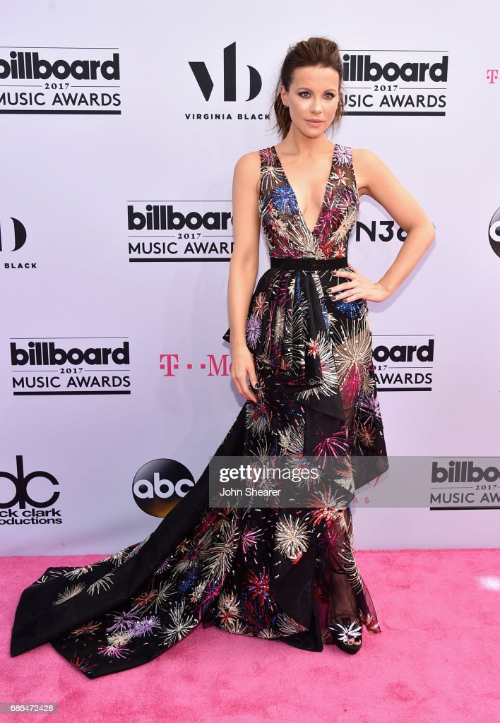 Actor Kate Beckinsale attends the 2017 Billboard Music Awards at T-Mobile Arena on May 21, 2017 in Las Vegas, Nevada.