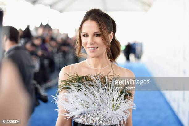 Actor Kate Beckinsale attends the 2017 Film Independent Spirit Awards at Santa Monica Pier on February 25 2017 in Santa Monica California