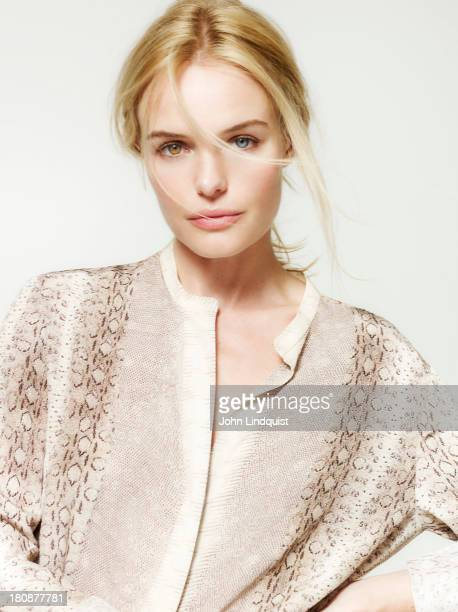 Actor Kate Bosworth is photographed for the Sunday Times on September 9 2011 in London England