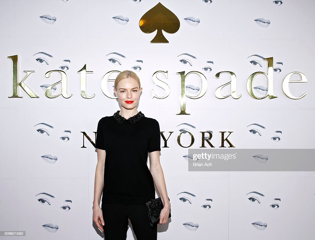 Actor <a gi-track='captionPersonalityLinkClicked' href=/galleries/search?phrase=Kate+Bosworth&family=editorial&specificpeople=201616 ng-click='$event.stopPropagation()'>Kate Bosworth</a> is seen at the Kate Spade New York presentation during Fall 2016 New York Fashion Week at The Rainbow Room on February 12, 2016 in New York City.