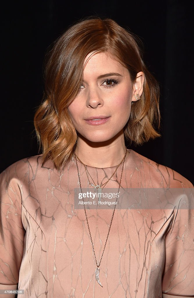 Actor <a gi-track='captionPersonalityLinkClicked' href=/galleries/search?phrase=Kate+Mara&family=editorial&specificpeople=544680 ng-click='$event.stopPropagation()'>Kate Mara</a> attends 20th Century Fox Invites You to a Special Presentation Highlighting Its Future Release Schedule at The Colosseum at Caesars Palace during CinemaCon, the official convention of the National Association of Theatre Owners, on April 23, 2015 in Las Vegas, Nevada.