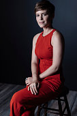 Actor Kate Mara of 'The Martian' poses for a portrait at the 2015 Toronto Film Festival at the TIFF Bell Lightbox on September 11 2015 in Toronto...
