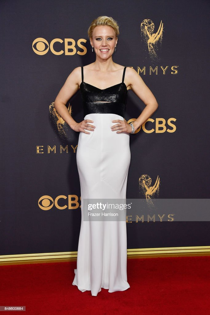 Actor Kate McKinnon attends the 69th Annual Primetime Emmy Awards at Microsoft Theater on September 17, 2017 in Los Angeles, California.