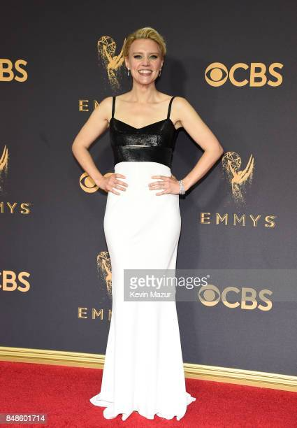 Actor Kate McKinnon attends the 69th Annual Primetime Emmy Awards at Microsoft Theater on September 17 2017 in Los Angeles California