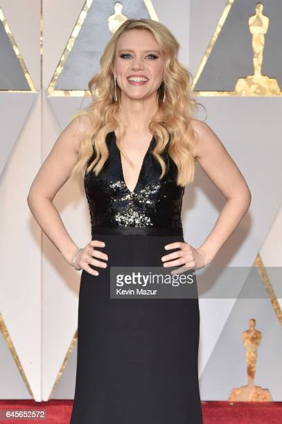 Actor Kate McKinnon attends the 89th Annual Academy Awards at Hollywood Highland Center on February 26 2017 in Hollywood California