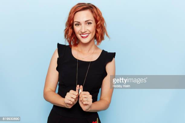 Actor Katherine Barrell from Syfy's 'Wynonna Earp' poses for a portrait during ComicCon 2017 at Hard Rock Hotel San Diego on July 20 2017 in San...