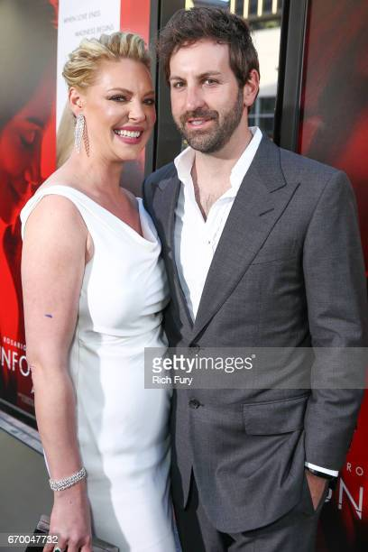 Actor Katherine Heigl and musician Josh Kelley attend the premiere of Warner Bros Pictures' 'Unforgettable' at TCL Chinese Theatre on April 18 2017...