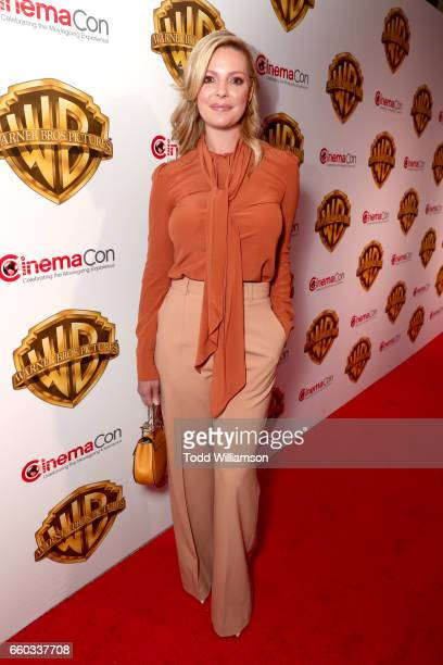 """Actor Katherine Heigl at CinemaCon 2017 Warner Bros Pictures Invites You to """"The Big Picture"""" an Exclusive Presentation of our Upcoming Slate at The..."""