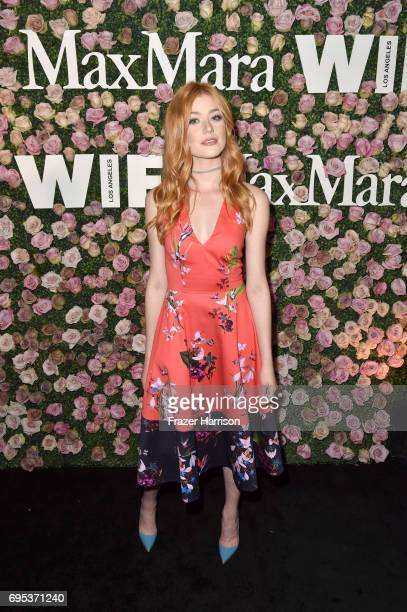 Actor Katherine McNamara at Max Mara Celebrates Zoey Deutch The 2017 Women In Film Max Mara Face of the Future at Chateau Marmont on June 12 2017 in...