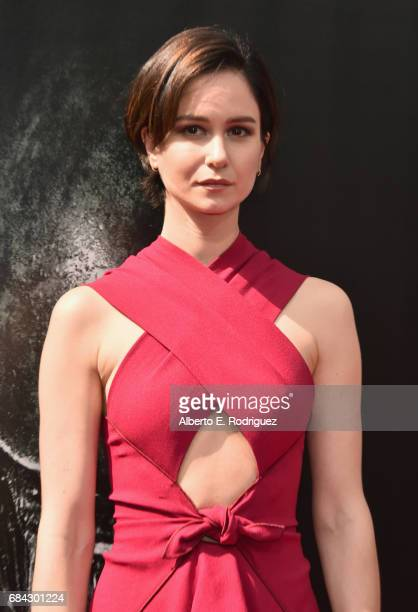 Actor Katherine Waterston attends Sir Ridley Scott's hand and footprint ceremony at TCL Chinese Theatre IMAX on May 17 2017 in Hollywood California