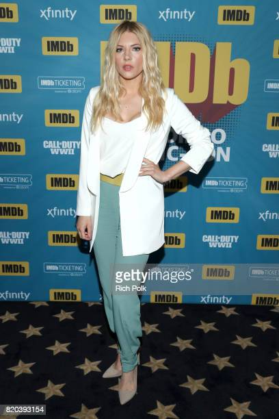 Actor Katheryn Winnick at the #IMDboat At San Diego ComicCon 2017 on the IMDb Yacht on July 21 2017 in San Diego California