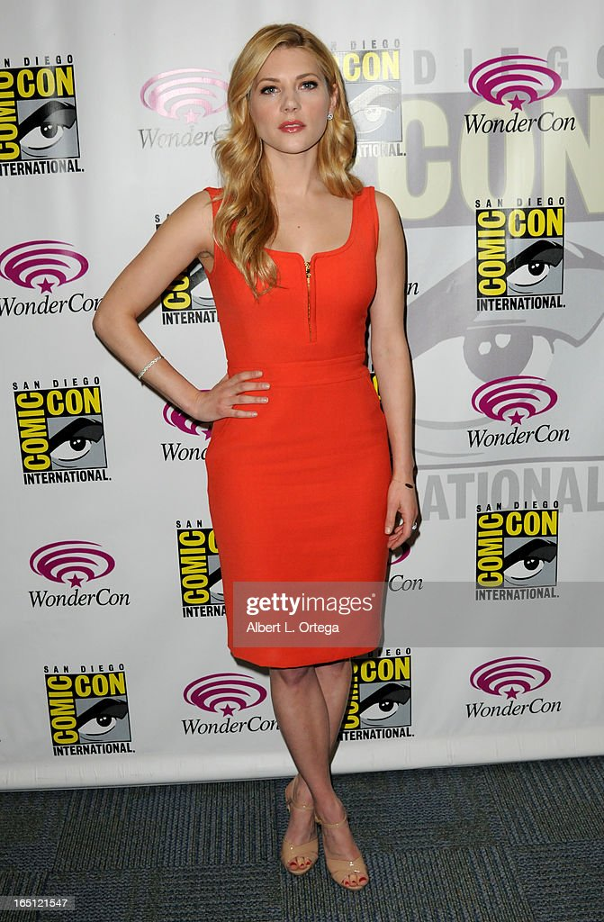 Actor Katheryn Winnick participates at WonderCon Anaheim 2013 - Day 2 at Anaheim Convention Center on March 30, 2013 in Anaheim, California.