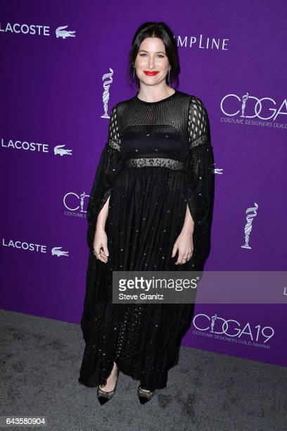 Actor Kathryn Hahn attends The 19th CDGA with Presenting Sponsor LACOSTE at The Beverly Hilton Hotel on February 21 2017 in Beverly Hills California