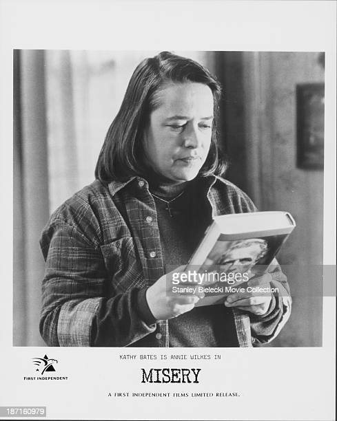 Actor Kathy Bates in a scene from the movie 'Misery' 1990