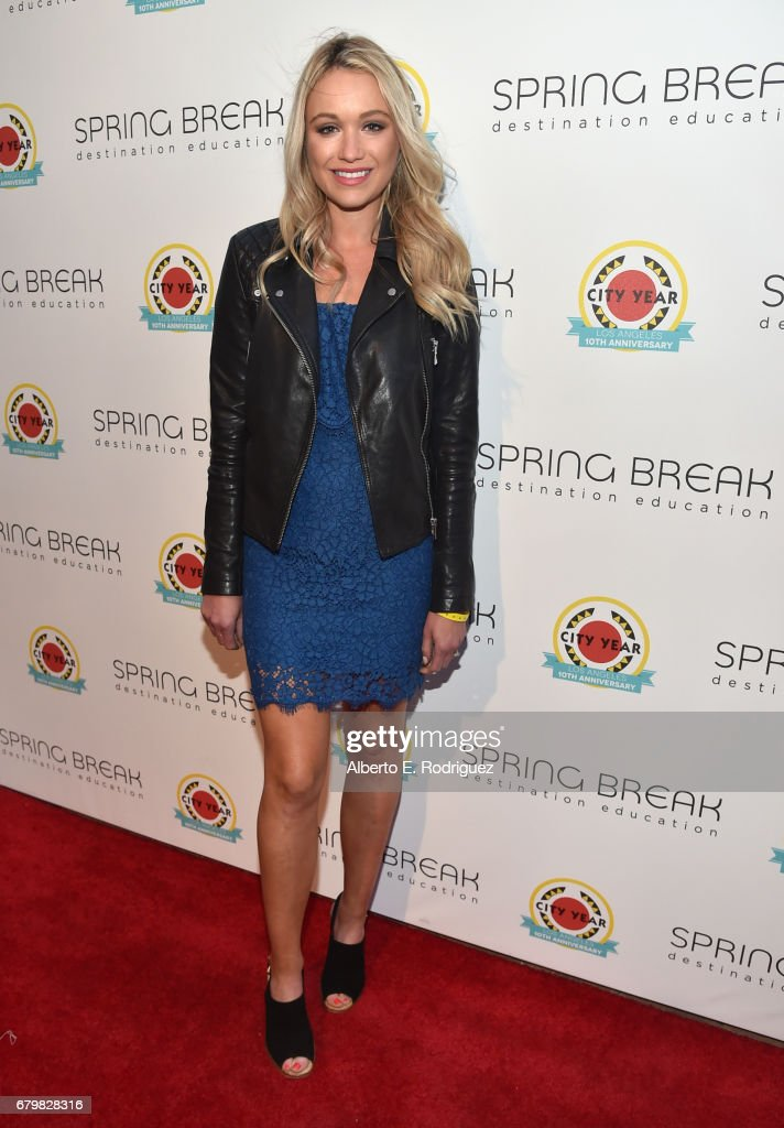 Actor Katrina Bowden attends City Year Los Angeles Spring Break on May 6, 2017 in Los Angeles, California.