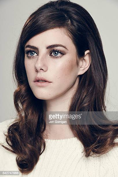 Actor Kaya Scodelario is photographed for the Guardian on July 3 2014 in London England