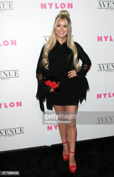 Actor Kaylyn Slevin attends NYLON's Annual Young Hollywood May Issue Event at Avenue on May 2 2017 in Los Angeles California