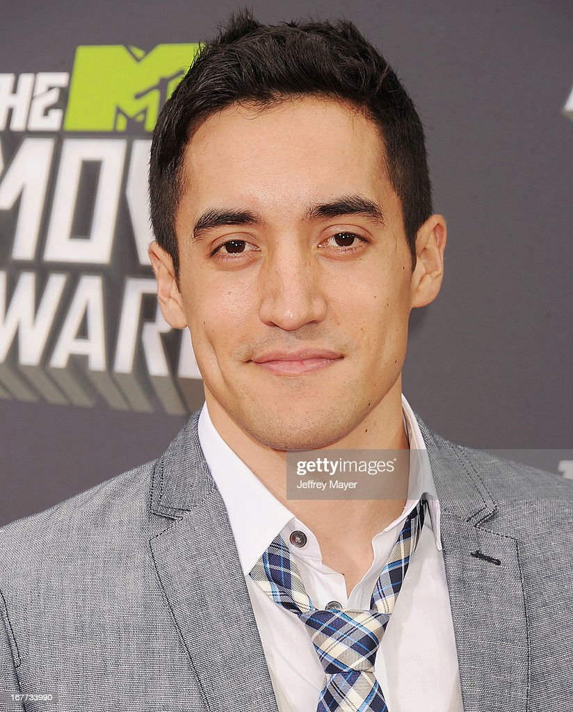 Actor Keahu Kahuanui arrives at the 2013 MTV Movie Awards at Sony Pictures Studios on April 14, 2013 in Culver City, California.