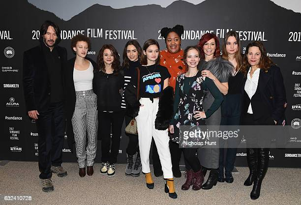 Actor Keanu Reeves actress Maya Eshet actress Kathryn Prescott director Marty Noxon actress Lily Collins actress Ciara Bravo actress Lindsey McDowell...