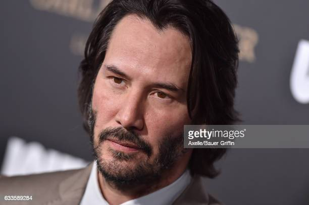 Actor Keanu Reeves arrives at the Los Angeles premiere of Summit Entertainment's 'John Wick Chapter 2' at ArcLight Hollywood on January 30 2017 in...