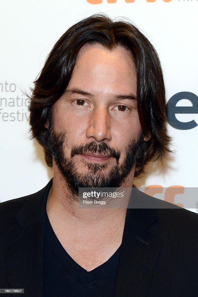 Actor <a gi-track='captionPersonalityLinkClicked' href=/galleries/search?phrase=Keanu+Reeves&family=editorial&specificpeople=171568 ng-click='$event.stopPropagation()'>Keanu Reeves</a> arrives at the 'Metallica: Through The Never' Premiere during 2013 Toronto International Film Festival at Scotiabank Theatre on September 9, 2013 in Toronto, Canada.