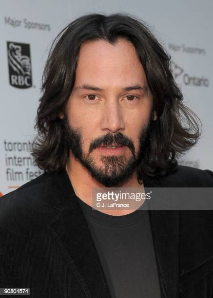 Actor Keanu Reeves arrives at the 'The Private Lives of Pippa Lee' screening during the 2009 Toronto International Film Festival held at Roy Thomson...