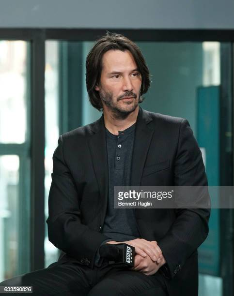 Actor Keanu Reeves attends the Build series at Build Studio on February 2 2017 in New York City