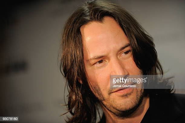 Actor Keanu Reeves attends The Cinema Society A Diamond is Forever screening of 'The Private Lives of Pippa Lee' at AMC Loews 19th Street on November...