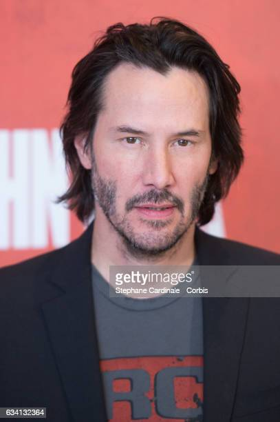 Actor Keanu Reeves attends the 'John Wick 2' Photocall at Hotel Ritz on February 7 2017 in Paris France