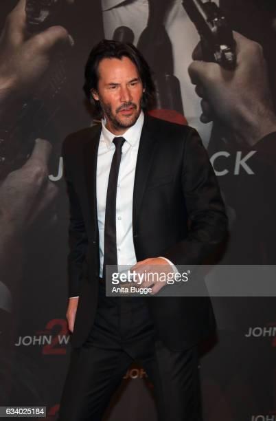Actor Keanu Reeves attends the 'John Wick Kapitel 2' Berlin photocall at Hotel De Rome on February 6 2017 in Berlin Germany