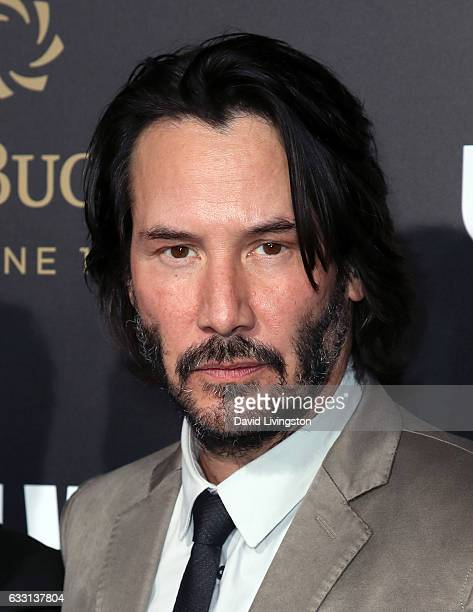 Actor Keanu Reeves attends the premiere of Summit Entertainment's 'John Wick Chapter Two' at ArcLight Hollywood on January 30 2017 in Hollywood...