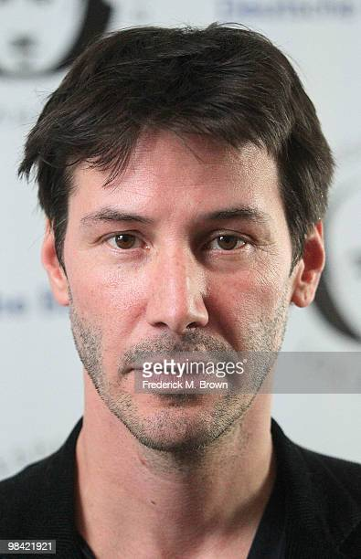 Actor Keanu Reeves attends the Shakespeare Center Los Angeles Presents 'Much Ado About Nothing' at The Broad Stage on April 12 2010 in Santa Monica...