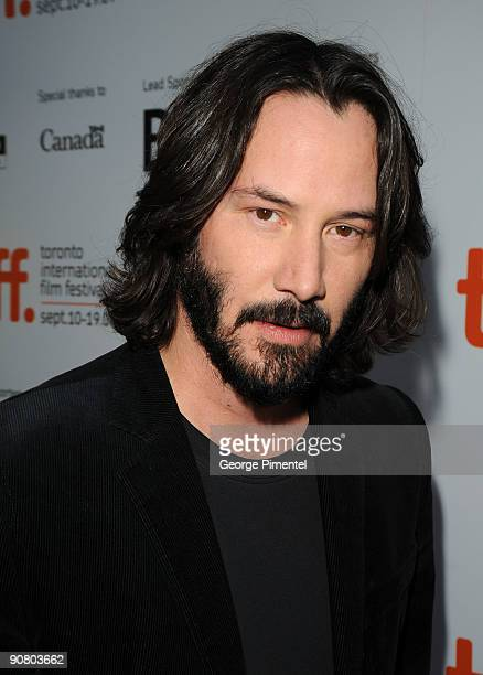 Actor Keanu Reeves attends the 'The Prvate Lives Of Pippa Lee' Premiere held at the Roy Thomson Hall during the 2009 Toronto International Film...