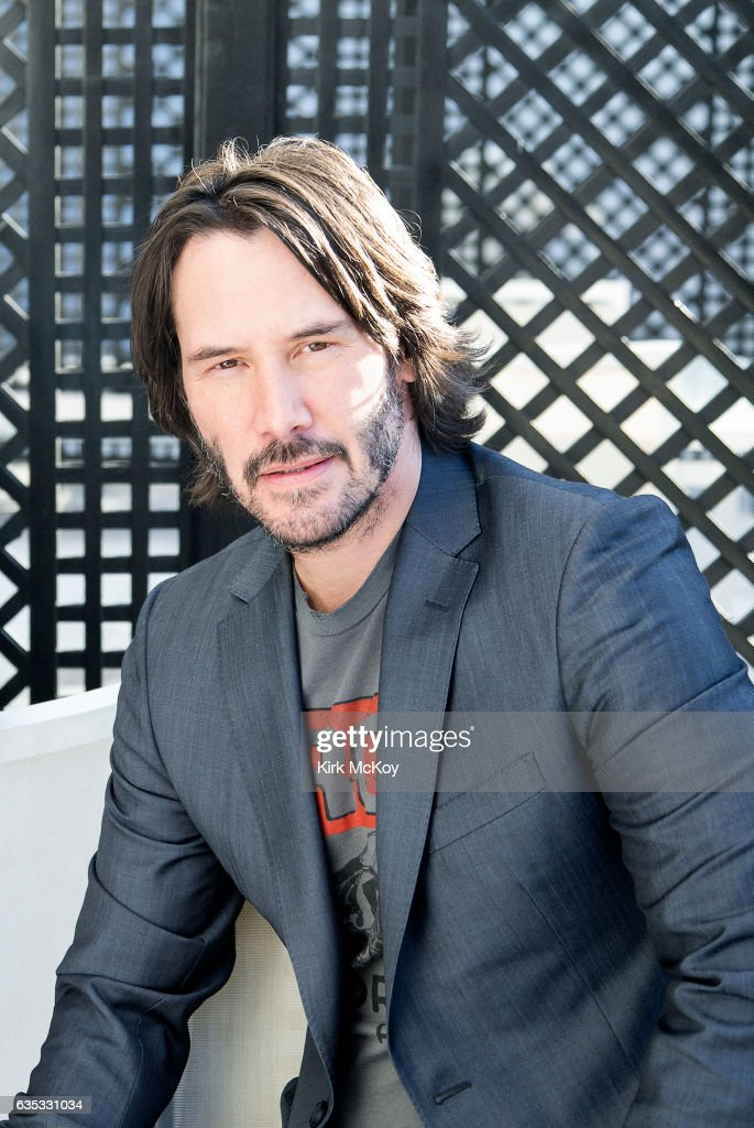 actor keanu reeves is photographed for los angeles times on january 27 2017 in los