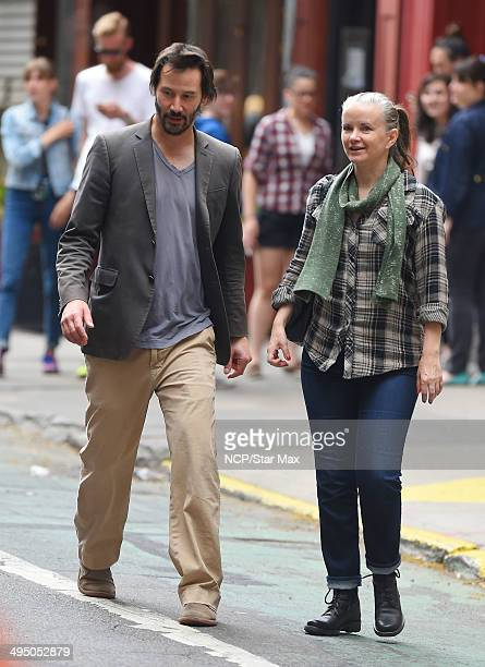 Actor Keanu Reeves is seen on May 31 2014 in New York City