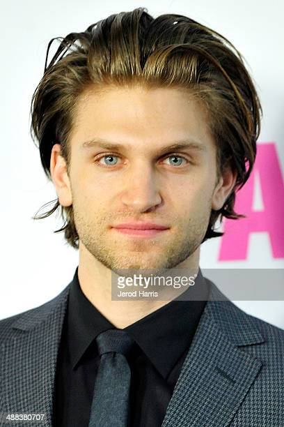 Actor Keegan Allen arrives at Tribeca Film's 'Palo Alto' Los Angeles Premiere on May 5 2014 in Los Angeles California