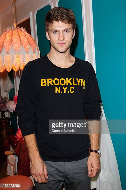 Actor Keegan Allen attends The Painted Lady written and directed by Liz Goldwyn presented by MAC Cosmetics on November 3 2012 in Los Angeles...