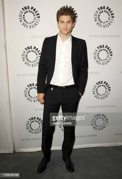 Actor Keegan Allen attends the Pretty Little Liars event at The Paley Center for Media on June 10 2013 in Beverly Hills California