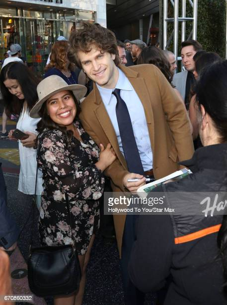 Actor Keegan Allen is seen on April 19 2017 in Los Angeles California
